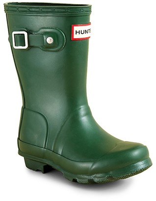 Hunter Unisex Matte Rain Boots - Little Kid, Big Kid $80 thestylecure.com