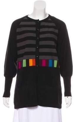 Sonia Rykiel Long Sleeve Wool Cardigan
