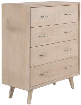 Corrie Solid Wood Tallboy Chest of Drawers