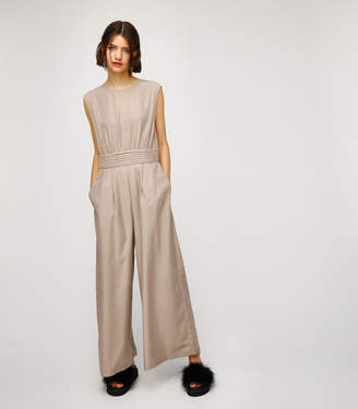 Moussy (マウジー) - Waist Gather Jump Suit