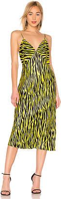 Olivia von Halle Issa Silk Bias Cut Slip Dress