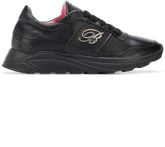 Blumarine logo low-top sneakers