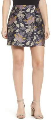 Vero Moda Freya Brocade Mini Skirt