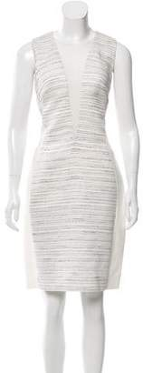 Narciso Rodriguez Silk-Trimmed Jacquard Dress w/ Tags