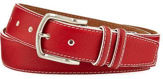 W.KLEINBERG W. Kleinberg Men's South Beach Pebbled Leather Belt