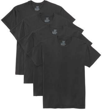 Hanes Men's 4-Pk. Platinum Stretch T-Shirts