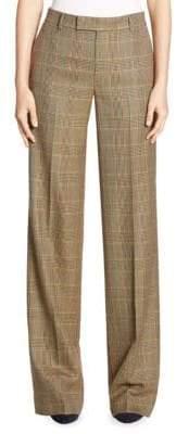 Ralph Lauren Corina Plaid Wool Pants