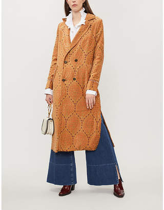 Free People All Night woven coat