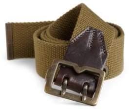 McQ Canvas Metal-Tip Belt