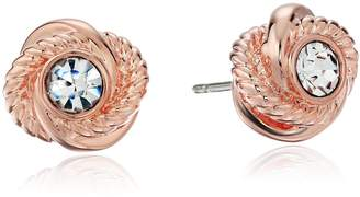Kate Spade Infinity and Beyond Knot Stud Earrings