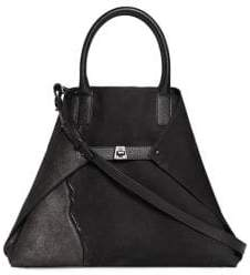 Akris Medium Leather Foldable Tote