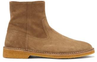 Isabel Marant Claine Suede Ankle Boots - Mens - Grey