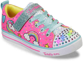 Skechers Twinkle Toes Unicorn Craze Toddler & Youth Light-Up Sneaker - Girl's