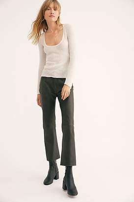 MiH Jeans Daily Leather Jeans