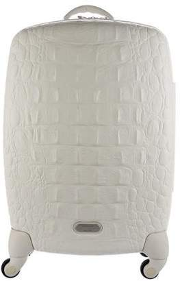 Alexander McQueen x Samsonite Embossed Hard Shell Trolley