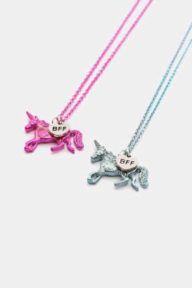 Ardene BFF Unicorn Necklace