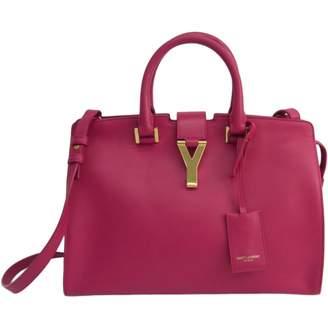Saint Laurent Chyc Pink Leather Handbags
