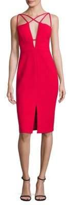 BCBGMAXAZRIA Strappy Sheath Dress