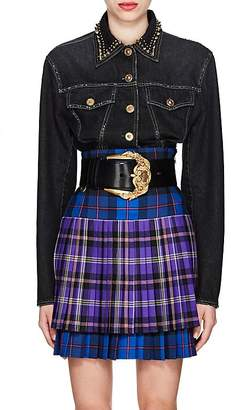 Versace Women's Studded Denim Jacket