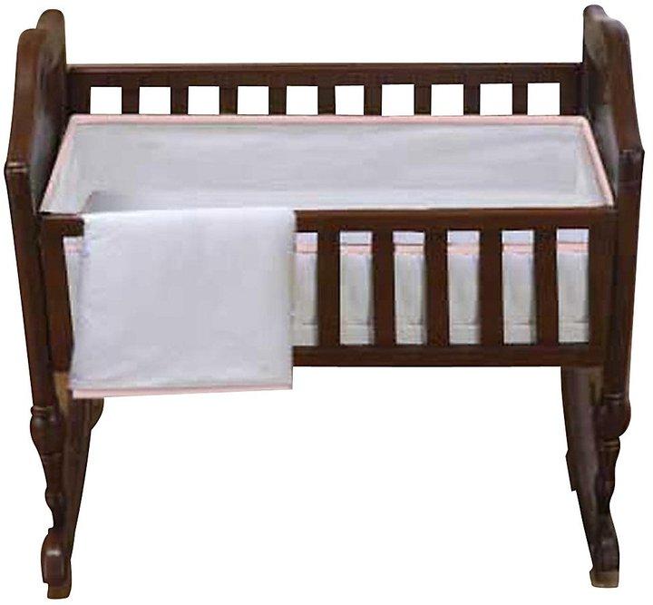 Baby Doll Bedding Forever Mine Cradle Set - Pink