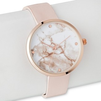 Merona Women's Marble Strap Watch Merona - Pink $16.99 thestylecure.com