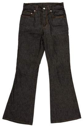 Gucci Mid-Rise Wide-Leg Jeans