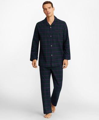 Brooks Brothers Tartan Flannel Pajamas