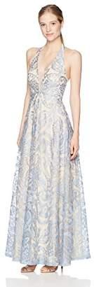 Speechless Junior's Full Length Embroidered Dress (Junior's)