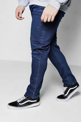 boohoo Big And Tall Slim Fit Ripped Knee Jeans