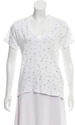 Current/Elliott Printed Knit T-Shirt