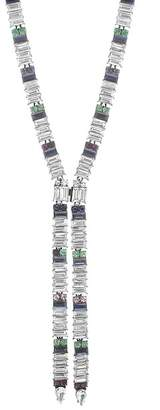 Steve Madden Multi-Colored Crystal Y-Necklace