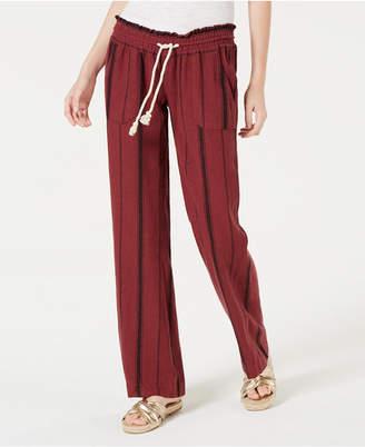 Roxy Juniors' Oceanside Striped Soft Pants