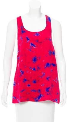 Lela Rose Sleeveless Printed Top