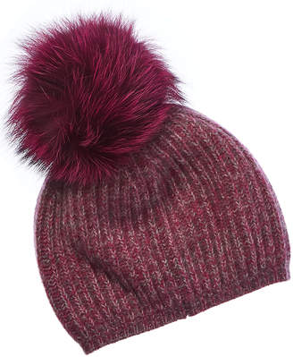 Portolano Cashmere Hat With Pom