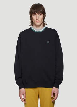 Acne Studios Crewneck Sweater in Black