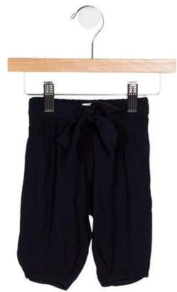 Chloé Girls' Tie-Accented Jogger Pants w/ Tags