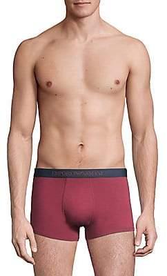 Emporio Armani Men's 3-Pack Cotton Trunks