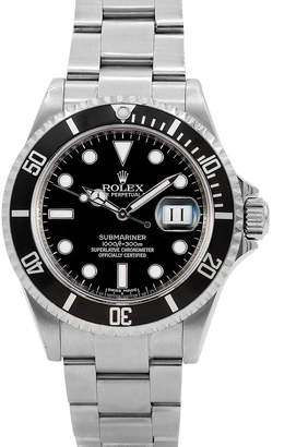 Rolex Pre-Owned 40mm Men's Submariner Watch, Black
