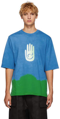 Cottweiler Blue and Green Cave T-Shirt
