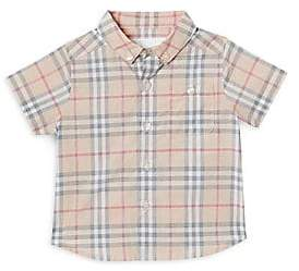 Burberry Baby Boy's Trauls Woven Top