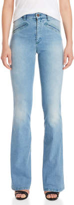 Fiorucci High-Waisted Flare Leg Jeans