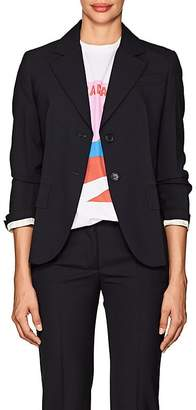 Prada Women's Wool Two-Button Blazer & Leather Belt