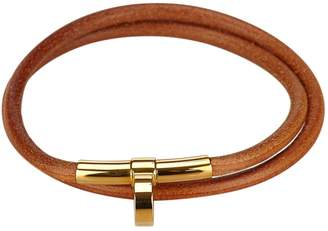 Hermes Leather necklace