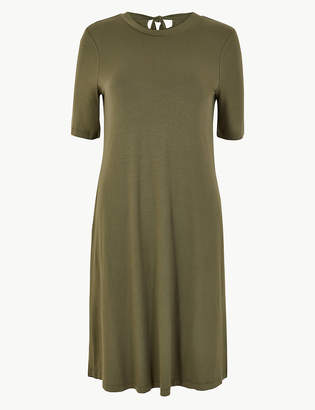Marks and Spencer Tie Back Jersey Swing Dress