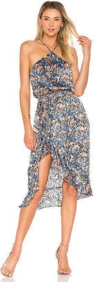 House of Harlow 1960 X REVOLVE Baye Midi in Blue $168 thestylecure.com