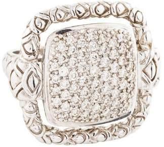 John Hardy Diamond Pavé Cocktail Ring