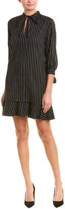 Derek Lam 10 Crosby Tie-Sleeve Shirtdress