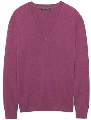 Banana Republic Cashmere V-Neck Sweater