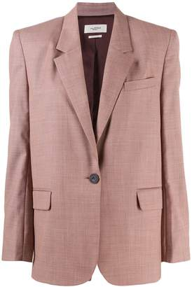 Etoile Isabel Marant single-breasted regular-fit blazer