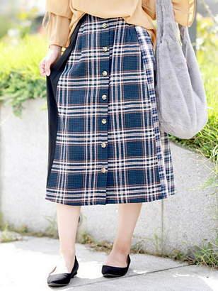Giordano (ジョルダーノ) - GIORDANO (L)コンビボタンスカート ジョルダーノ スカート